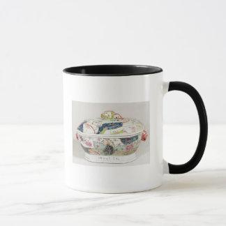 Porcelain dish, 18th century mug