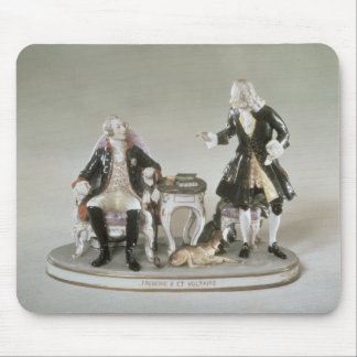 Porcelain figure of Frederick II of Prussia Mouse Mat