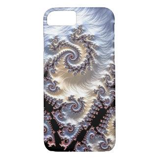 Porcelain Fractal Spirals iPhone 8/7 Case