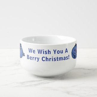 "Porcelain Mug Personalise ""Berry Christmas"""