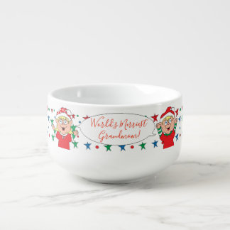 "Porcelain Mug Personalise ""Christmas Elves"""