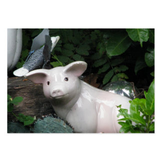 Porcelain Pig Business Card Template