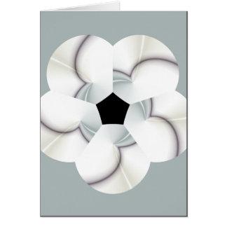 porcelain rain greeting card