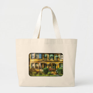 Porch - A yellow classic Jumbo Tote Bag
