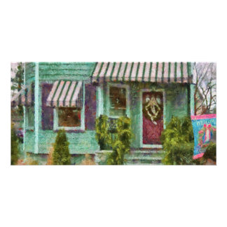 Porch - Welcome Friends Picture Card