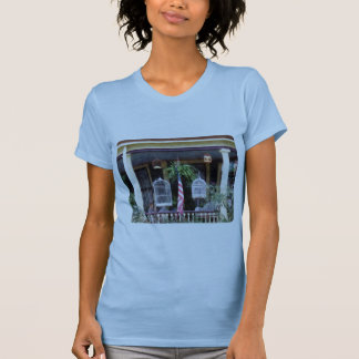 Porch With Bird Cages Tee Shirt