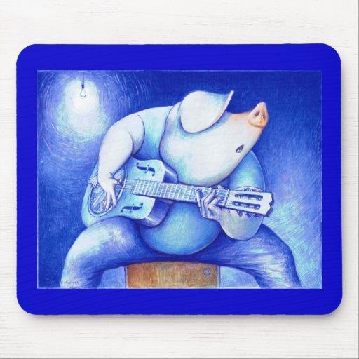 Porcine Blue Mousepad