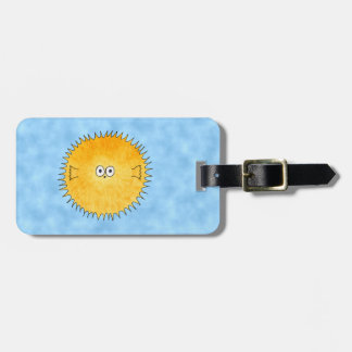Porcupine Fish. Luggage Tag