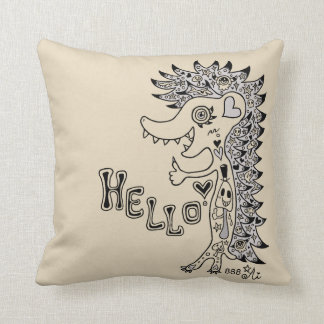 Porcupine (hello)* cushion