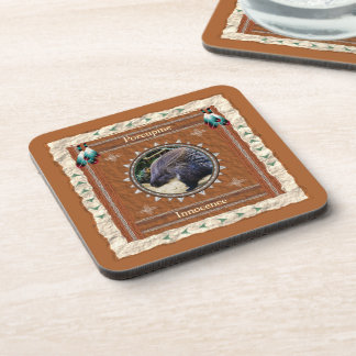 Porcupine  -Innocence- Cork Coaster Set of 6