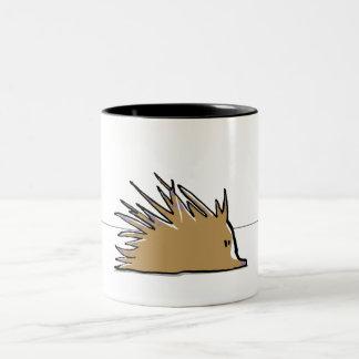 porcupine mugs