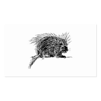 Porcupine Pack Of Standard Business Cards