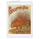 Porcupine Rag Vintage Songbook Cover