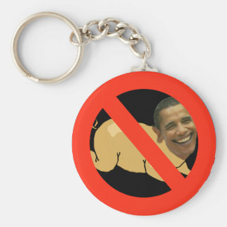 Pork-bama Basic Round Button Key Ring