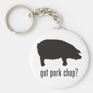 Pork Chop Keychains