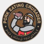 Pork Eating Crusader Sticker