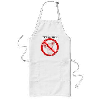Pork Free Zone long apron