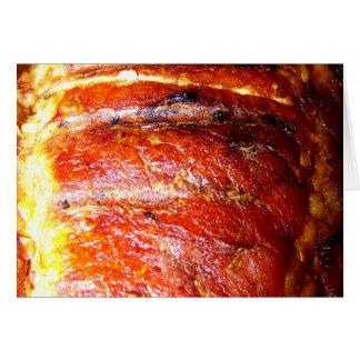 Pork Loin Roast Photo Greeting Card