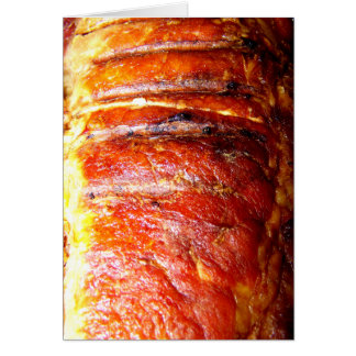 Pork Loin Roast Photo Greeting Card