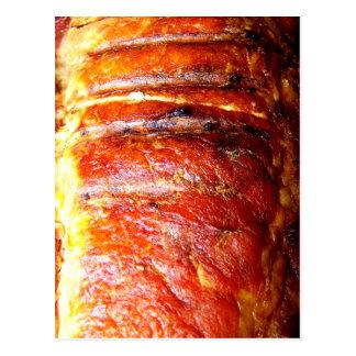 Pork Loin Roast Photo Postcards