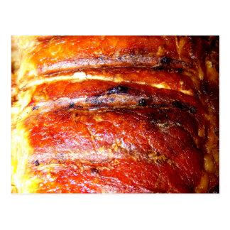 Pork Loin Roast Photo Post Cards