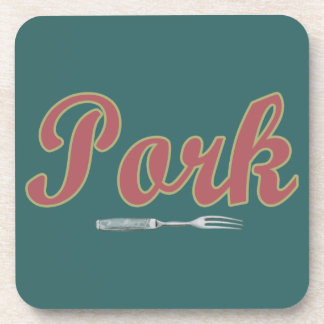 Pork n Fork Beverage Coasters