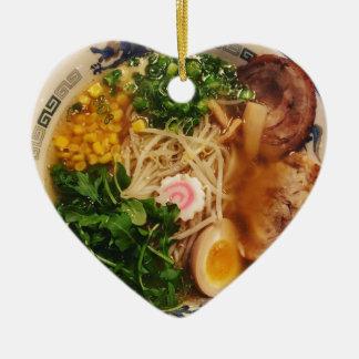 Pork Ramen Noodles Christmas Ornament