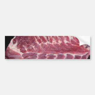 Pork Ribs Bumper Sticker