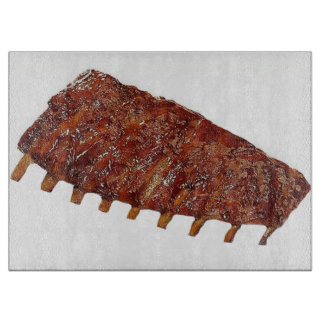 """Pork Ribs"" design cutting boards"