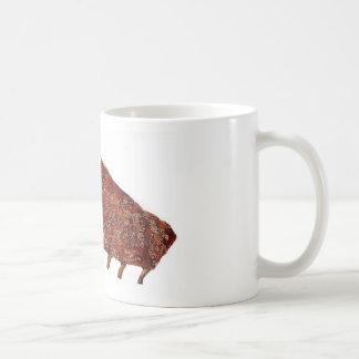 """Pork Ribs"" design mugs"