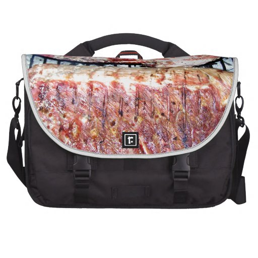 Pork Spare Ribs on the Grill Laptop Computer Bag