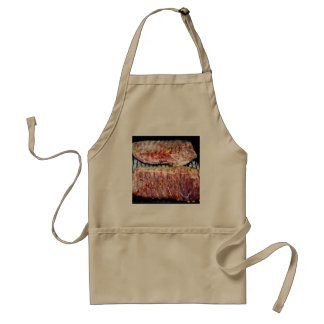 Pork Spare Ribs on the Grill Standard Apron