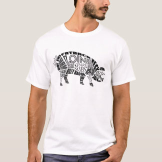 Pork Typogram T-Shirt