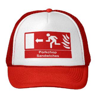 Porkchop Sandwiches Hats