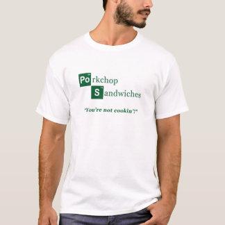 Porkchop Sandwiches Parody Logo T-Shirt