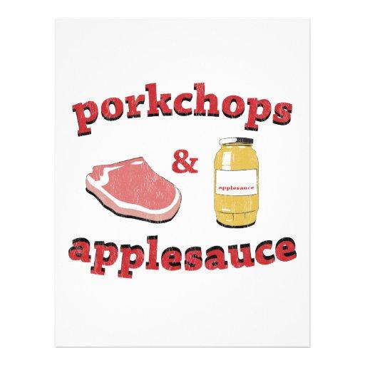 porkchops & applesauce 21.5 cm x 28 cm flyer