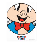 Porky Dotty Icon Postcard