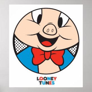 Porky Dotty Icon Poster