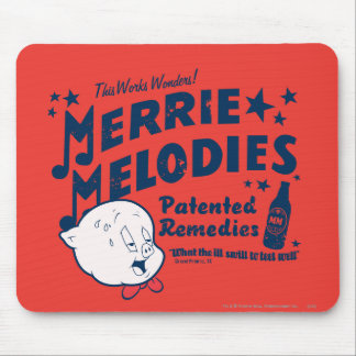 Porky MERRIE MELODIES™ Remedies 2 Mouse Pad