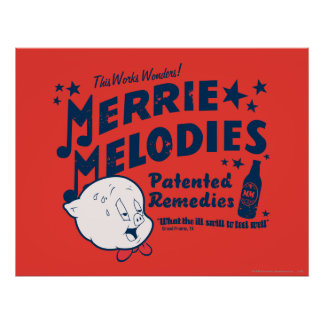 Porky MERRIE MELODIES™ Remedies 2 Poster