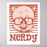 Porky - Nerdy Poster