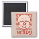 Porky - Nerdy Refrigerator Magnet