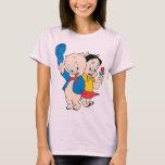 Porky Pig and Petunia T-Shirt