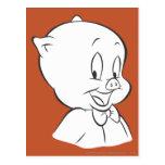 Porky Pig Expressive Expressive Expressive 4 Post Card