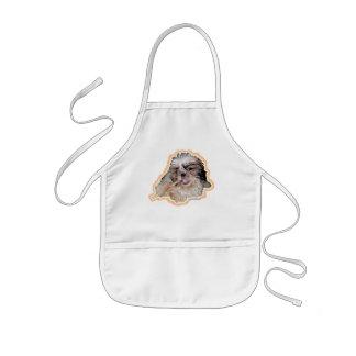 poronchi puppy flute apron