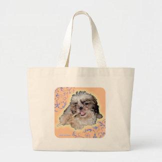 poronchi puppy flute bag