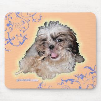 poronchi puppy flute mousepad