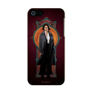 Porpentina Goldstein Art Deco Panel Incipio Feather® Shine iPhone 5 Case