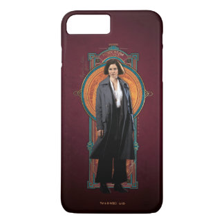 Porpentina Goldstein Art Deco Panel iPhone 8 Plus/7 Plus Case