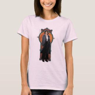 Porpentina Goldstein Art Deco Panel T-Shirt